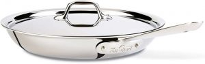 """All-Clad 41126 Stainless Steel 12"""" Fry Pan"""