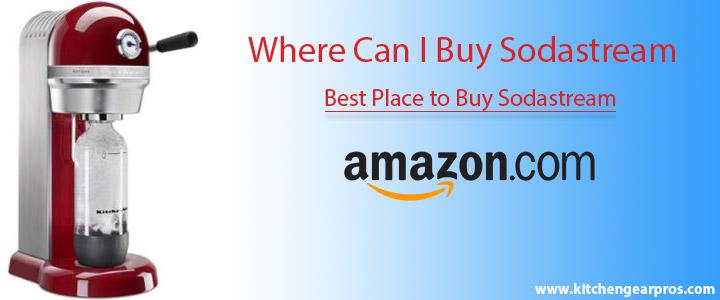 Where Can I Buy Sodastream? (ultimate best soda maker guide)